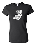 Computer Pirate. Ladies Pirate Shirt