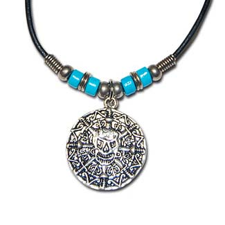 Pieces of Eight Medallion Necklace