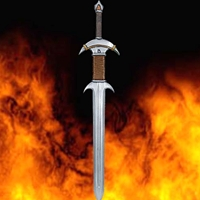 LARP Kingslayer Sword - Latex