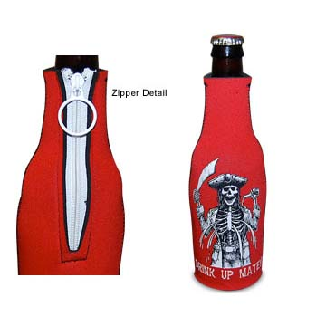 Drink Up Matey Bottle Koozie