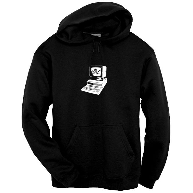 Computer Pirate - Unisex Hoodie