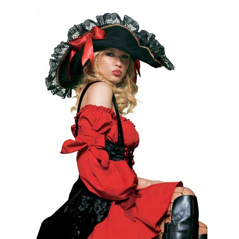 Pirate Hat - Lacy Lady Swashbuckler