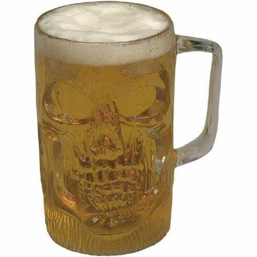 Clear Pirate Beer Mug