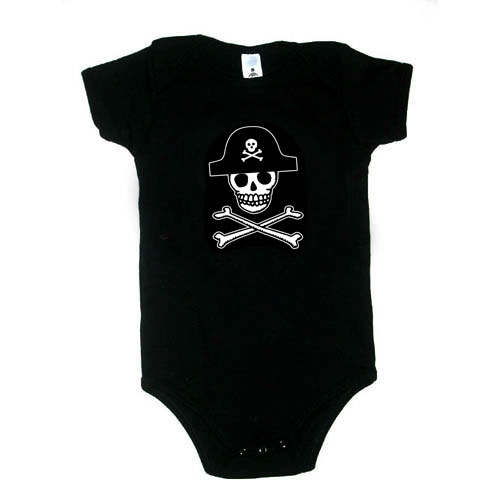 Baby / Infant One Piece - Rummy Skull