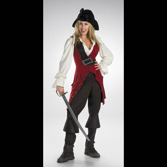 Elizabeth Pirate Costume