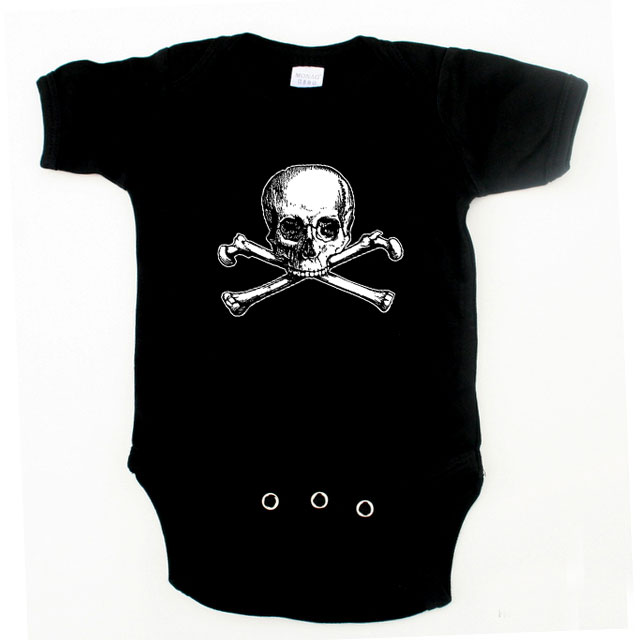 Baby / Infant One Piece - Old Skull and Bones