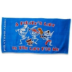A Pirate's Life For Me Beach Towel