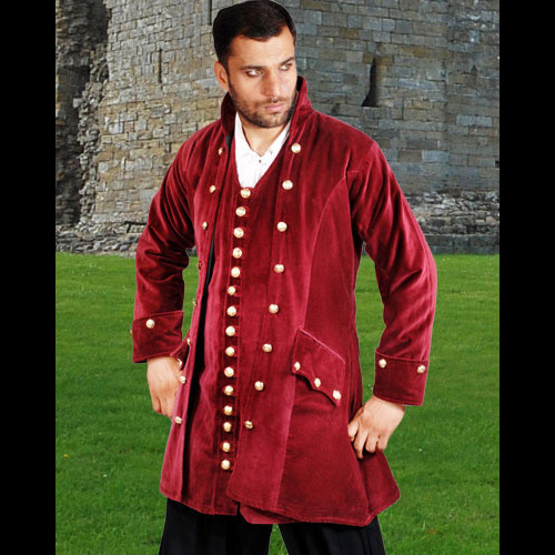 Captain England Authentic Pirate Coat