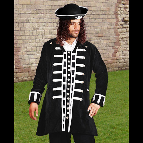 Captain La Sage Authentic Pirate Coat