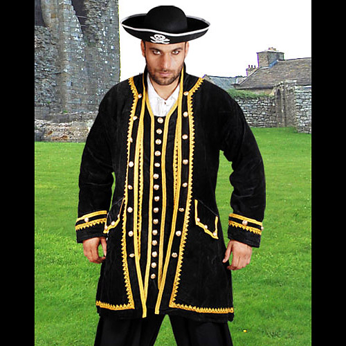 Captain Avery Authentic Pirate Coat