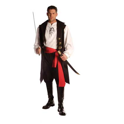 Pirate Captain Blood Costume
