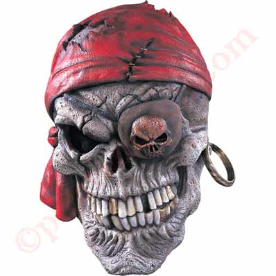 Spooky Skeleton Pirate Mask
