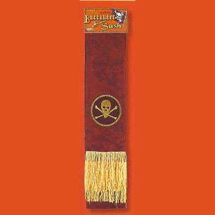 High Seas Buccaneer Sash