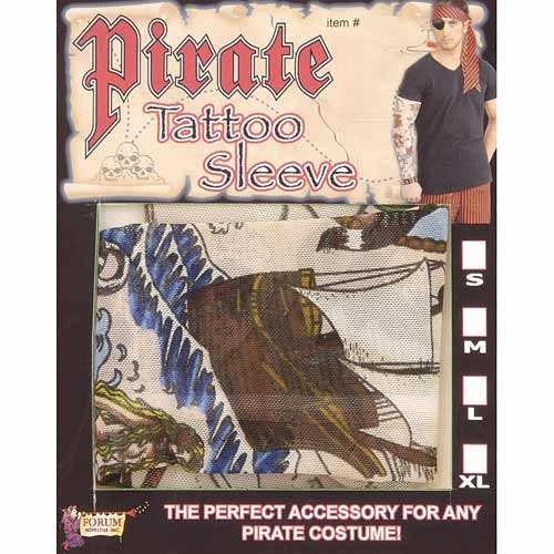 Pirate Tattoo Sleeve