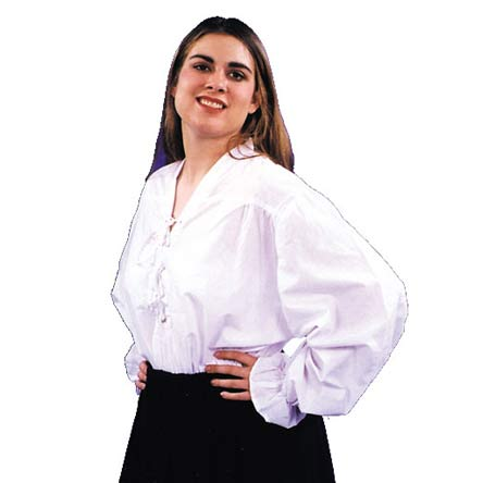 Women's Puffy Pirate Shirt