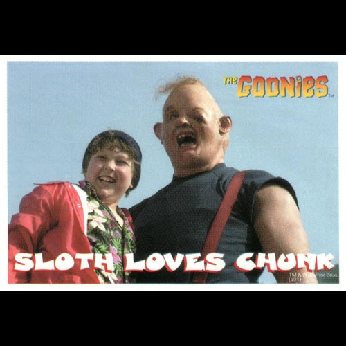 Goonies Pirate Sticker - Sloth Loves Chunk
