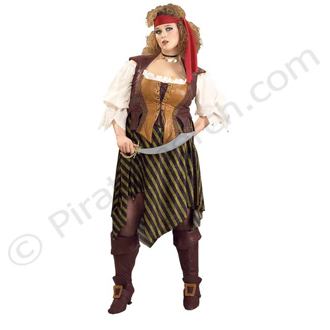 sc 1 st  Piratemerch & Pirate Wench - Ladies Plus Size Costume
