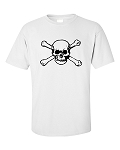 Skull & Bones 2 White or Grey T-shirt