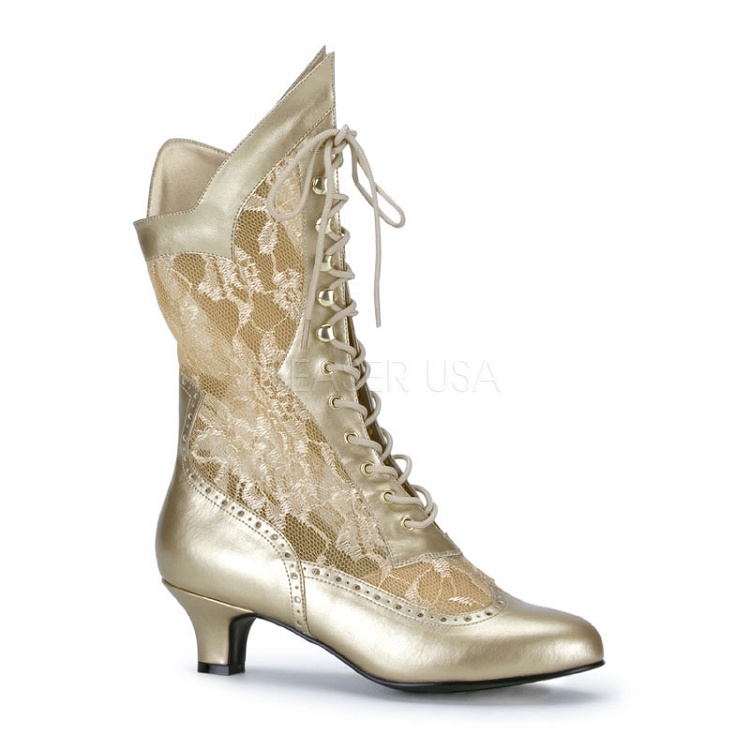 Perfect Sexy Gold And Black Pirate Boots  Womens Pirate Footwear