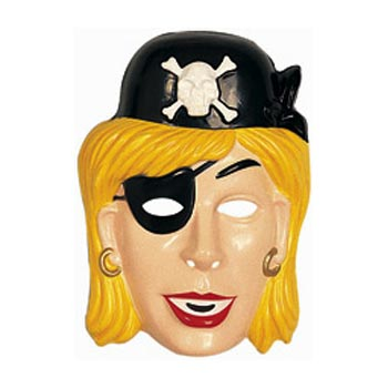 Pirate Girl Mask
