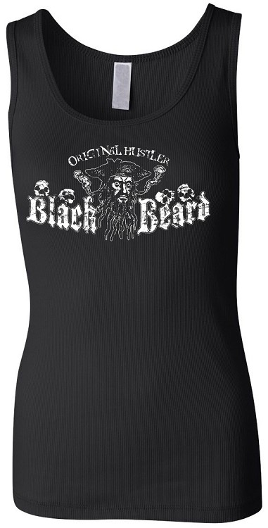 Blackbeard, Original Hustler Ladies Tank Top
