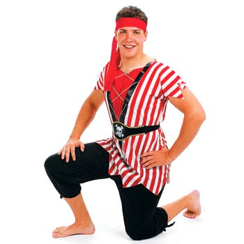 Teen Pirate Captain Costume