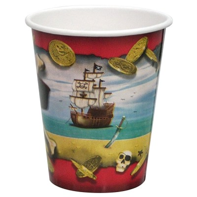 Pirate Bounty Paper Party Cups