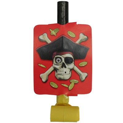 Pirate Bounty Party Blowouts - 8-Pack