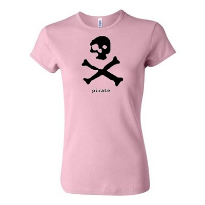Pirate Baby Doll - Pirate. - Pink