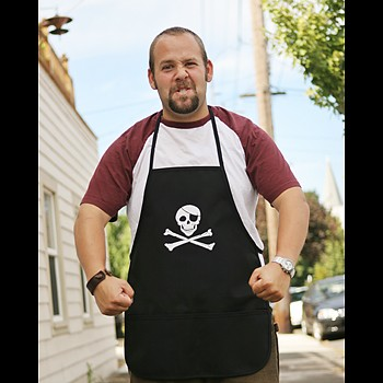 Pirate Apron - Black