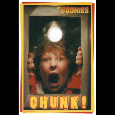 Goonies Pirate Sticker - CHUNK!