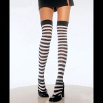 Pirate Striped Tights - Thigh High