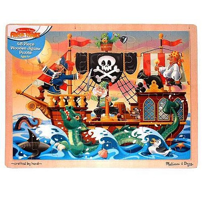 Pirate Ship Wooden Jigsaw Puzzle
