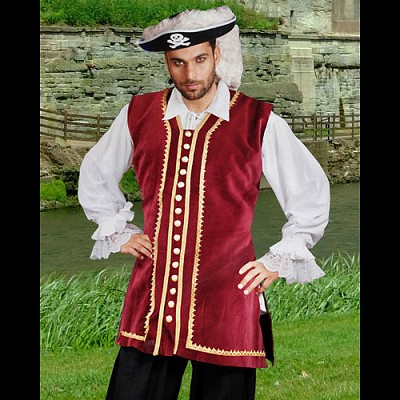 Captain Easton Authentic Pirate Vest