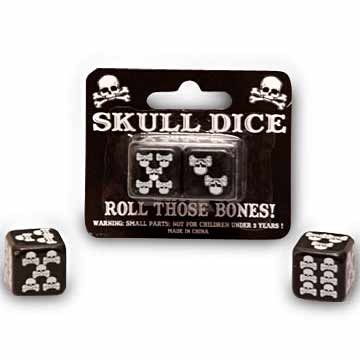 Pirate Skull Dice
