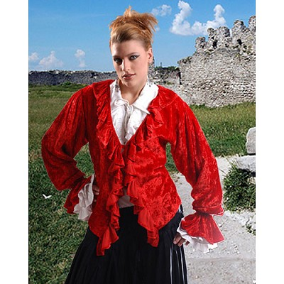 Spanish Maiden Authentic Pirate Blouse