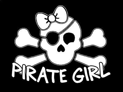 Pirate Sticker - Pirate Girl